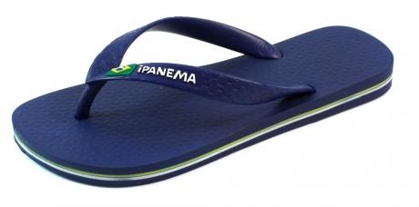 Ipanema slippers online Classic Brasil Blauw IPA55