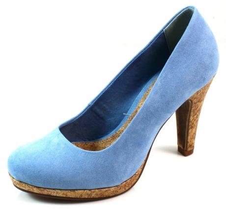Marco Tozzi online pumps 2/2-22415 Licht blauw MAR63