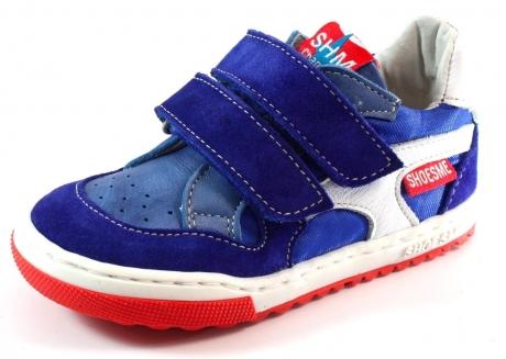Shoesme klittenbandschoenen EF4S016 Blauw SHO30