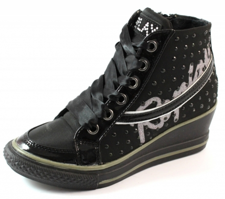 Replay online sneakers Longwood Zwart REP01