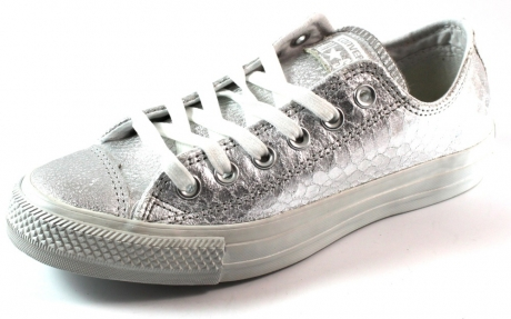 Converse All Stars ox lage sneakers online Zilver CON27