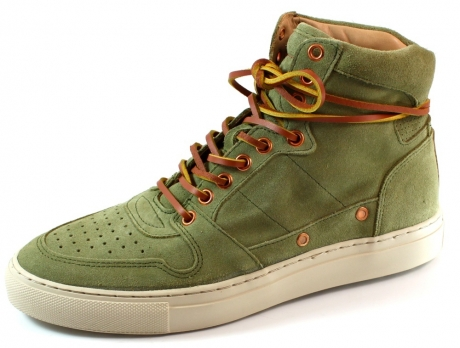 Fretons sneakers online 221047 Olive FTS02