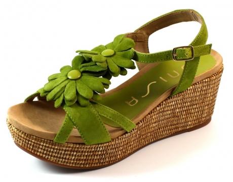 Unisa online sandaal Kelso Olive UNI11