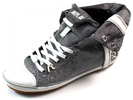 meer info dames replay sneakers dames goud replay sneakers details € ...