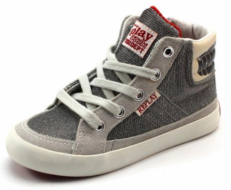 Replay Pittsburg sneaker online Zilver REP12