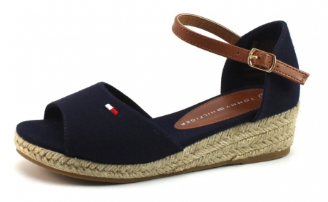 Tommy Hilfiger T3A2-3024 sandalen Blauw TOM05