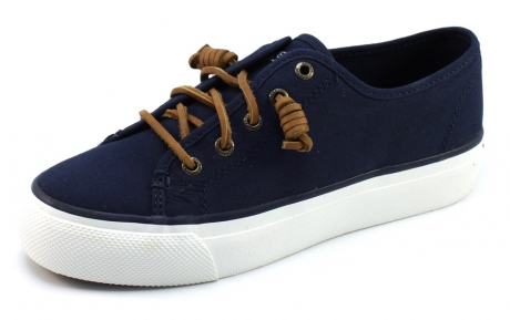 Image of Sperry Sky Sail Canvas Blauw Spe19