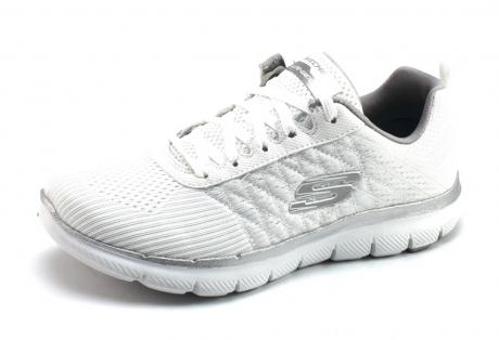 Image of Skechers 12757 Sneaker Wit Ske59