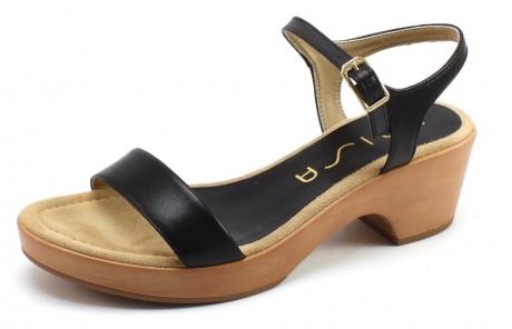 Unisa Irita 18 NA sandal Zwart UNI38