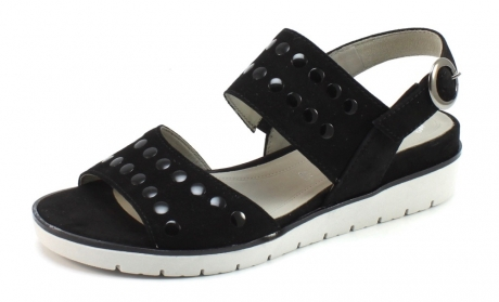 Gabor 85.503 sandaal Zwart GAB56