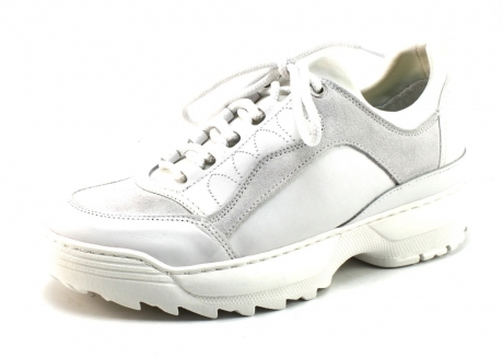 Monshoe 652.81.7 sneaker Wit MON54