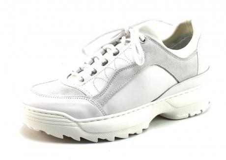 Image of Monshoe 652.81.7 Sneaker Wit Mon54