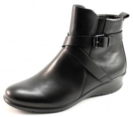 Ecco Felicia laarzen Zwart ECC10