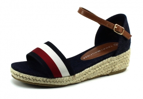 Tommy Hilfiger T3A2-30656 Rope Wedge Blauw TOM39