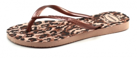 Havaianas slippers Slim Animals Roze HAV23