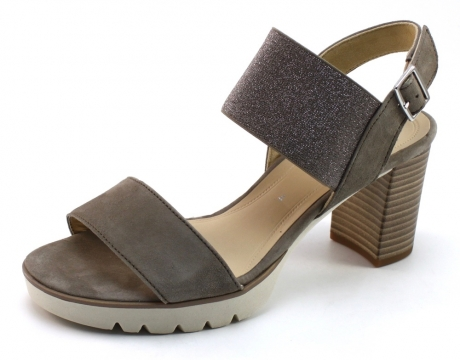 Gabor 65820 sandaal Beige / Khaki GAB96