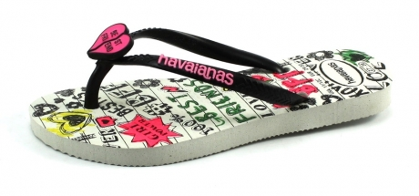 Havaianas Kids Slim Best Friends Zwart HAV29