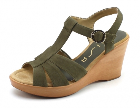 Unisa Rocin-ks sandaal Taupe UNI22