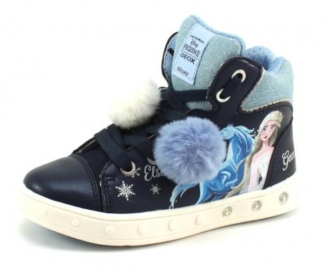 Geox J Skylin Frozen Blauw GEO10