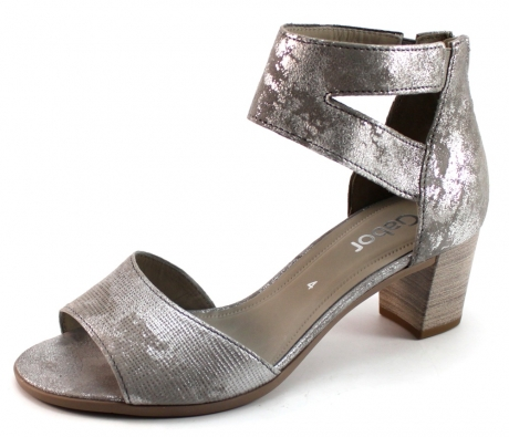 gabor 44881 sandalen zilver gab51