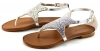 Inuovo 6377 sandalen Zilver INU07