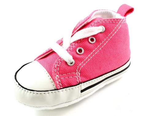 Converse babyschoenen online First Star Roze ALL25