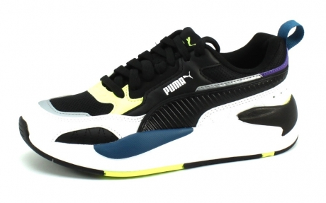 Puma X-Ray 2 Square JR Zwart PUM39