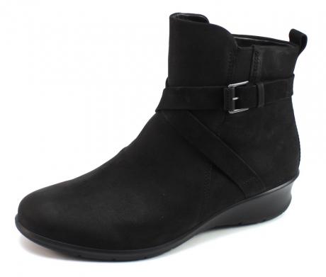 Ecco Felicia laarzen Zwart ECC38