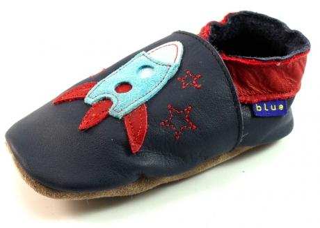 Inch Blue babyslofjes Zoom Blauw INC27