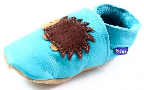 Inch Blue babyslofjes online Hedgedog Licht blauw INC04