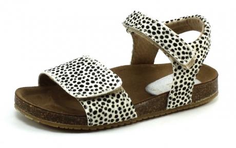 Clic CL-Grass sandal Zwart/wit CLI46