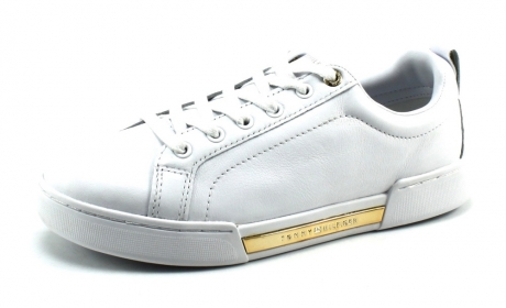 Tommy Hilfiger Branded Outsole Metallic FW0FW04707 Wit TOM28