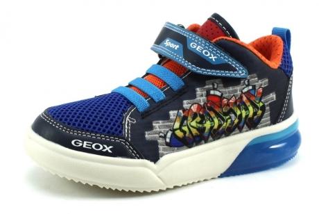 Geox J GrayJay Blauw GEO86