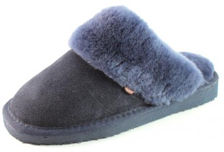 Warmbat Australia pantoffels flurry LSFL01 Blauw WAR02