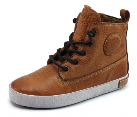 Image of Blackstone Ck02 Veterschoenen Cognac Bla27
