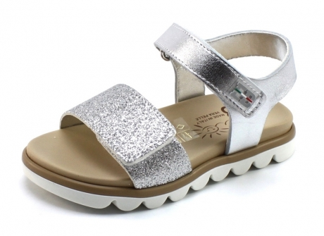 Image of Eb Shoes 1242 Sandaal Zilver Eb15