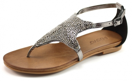 Inuovo 6377 sandalen Zilver INU08