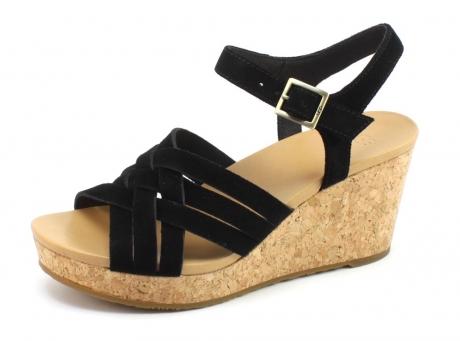 Image of Ugg 1019892 Uma Sandal Zwart Ugg76