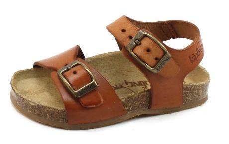 Kipling Easy 4 sandal Cognac KIP04