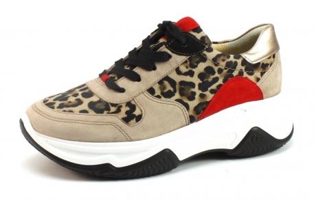 Paul Green 4764-035 sneaker Beige / Khaki PAU07