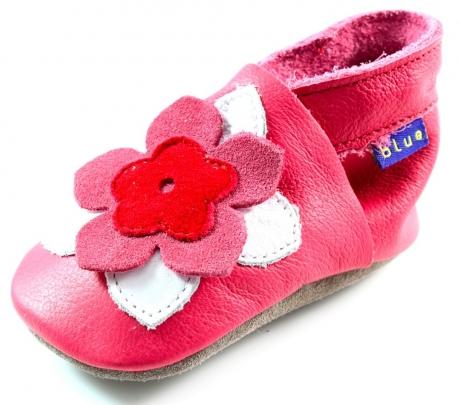 Inch Blue babyslofjes online Kleo Fuchsia Roze INC10