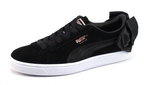 Puma Suede Bow Zwart PUM76