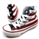 Converse All Stars stars & bars Rood ALL11