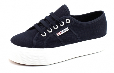 Image of Superga Sneakers 2790 Cotu Classic Blauw Sup14
