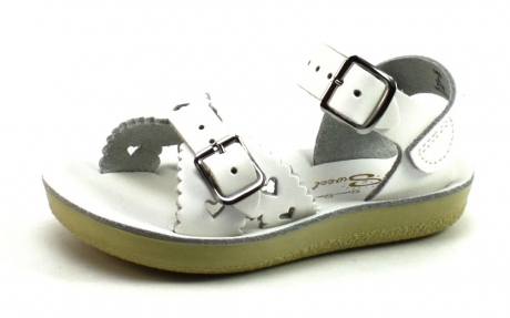 Salt Water Sandals Sweetheart Wit SAL13