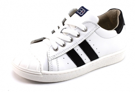 Image of Eb Shoes B1043 Sneaker Wit Eb16