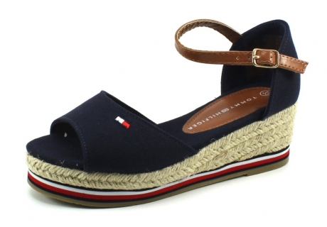 Tommy Hilfiger T3A2-30658 Rope Wedge Blauw TOM40