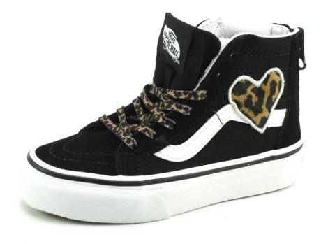 Vans SK8-Hi Leopardo heart Zwart VAN27