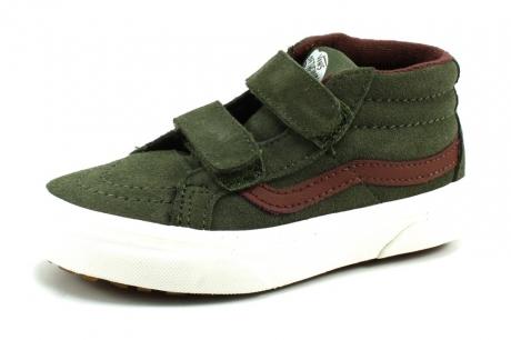 Vans SK8-Hi Mid Groen Olive VAN90