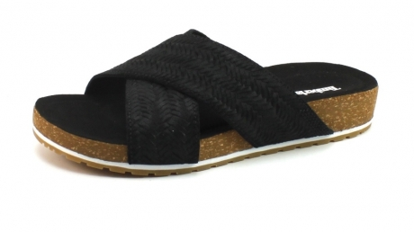 Timberland Malibu Waves slipper Zwart TIM19